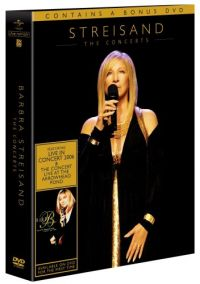 Cover Barbra Streisand - The Concerts [DVD]